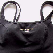 Liz Claiborne Women's Black onePiece Bathing Suit Size 10 Sports  Summer Beach