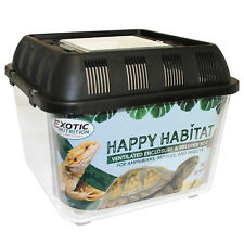 Happy Habitat (Standard) - Ventilated Storage Container - Live Feeder Mealworms