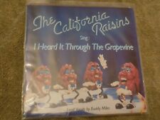 "California Raisins I Heard It Through The Grape. 7"" 45 80s novelty Buddy Miles"