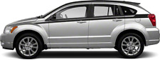 Upper Body (Cuda) Side Graphic Decal Stripes for Dodge Caliber 2007-2012