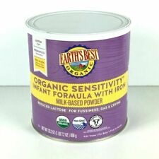 Earth's Best Organic Sensitivity Infant Formula with Iron - 23.2oz
