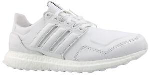 Adidas Ultra Boost Sneaker Laufschuhe Turnschuhe Leder weiß EF1355 Gr. 43 NEU
