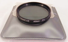 Coastar 49mm PL Filter w/ Pouch
