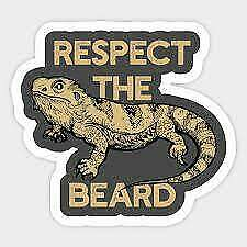 bearded dragon vinyl sticker , many to choose from! weather proof