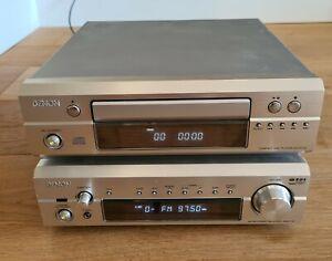 Denon Stereo Receiver & CD Player : DRA-F101 & DCD-F101
