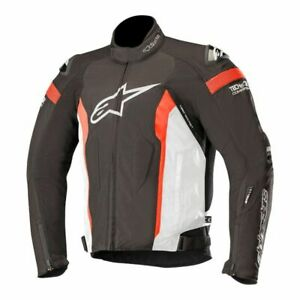 Alpinestars T-Missile Drystar Jacket Tech-Air Compatible L Black/White/Red