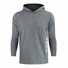 Hugo Boss Herren Homewear Sweatshirt Pullover Hoodie Identity LS-Shirt H