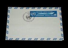 U.N.1969, GENEVA #UC1, AIR LETTER SHEET ,FDC, NICE!! LQQK!!!