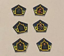 Lot de 6 Harry Potter Style Grenouille en Chocolat cartes pour une échelle 1/12 Maison de poupées
