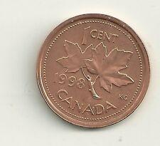 1998 W UNC Canada 1 Cent error coin