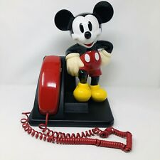 Disney MICKEY MOUSE Telephone Push Dial Button Landline AT&T Corded Phone