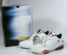 New Vintage Starter Pro Mens Athletic White Leather & Red Collector Sneaker 12