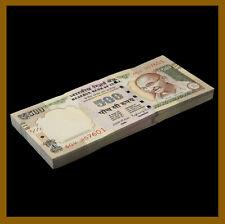 India 500 Rupees x 50 Pcs Bundle, 202016 P-106 New Rupees Symbol Unc