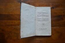 LIBRO VIA CRUCIS BEATO LEONARDO PORTO MAURIZIO ROMA 1813 INCISIONI Firma Bollo