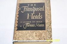 The Transposed Heads, A Legend Of India by Thomas Mann 1941 Alfred A. Knopf H/C