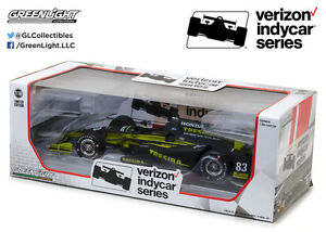 Charlie Kimball Greenlight 1/18 #83 Tresiba IZOD Indy Car IN STOCK Free Ship