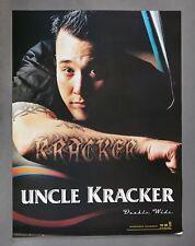 Uncle Kracker Double Wide U.S. Promo Poster -Kid Rock Dj Rock Hip Hop 18X24 Nos