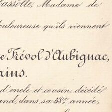 Stanislas  Dominique Frevol D'Aubignac De Ribains 1888
