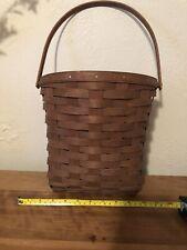 longaberger Hanging flower basket In Dark Brown
