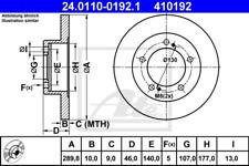 Bremsscheibe (2 Stück) - ATE 24.0110-0192.1