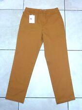 ASOS Womens Chino Trousers Pants in Ochre Size 8 Orange Brown UK FREEPOST