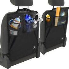 Kick Mat For Car Auto Back Seat Cover Kid Care Organizer Protector Cleaning 2pk (Fits: Seat)