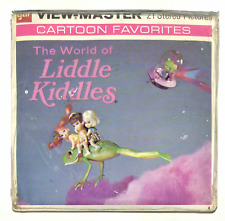 SEALED vintage GAF view master THE WORLD OF LIDDLE KIDDLES reel set MATTEL dolls