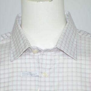 NWT MICHAEL KORS Regular Fit Airsoft Stretch Cotton Dress Shirt 18.5 36/37 XXL