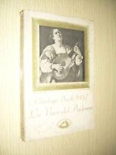CATALOGO DISCHI 1937 LA VOCE DEL PADRONE