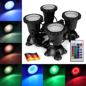 LED Teich Gartenteich Schwimmteich Beleuchtung Unterwasser Lampe Licht Strahler
