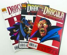 Marvel DRACULA LORD OF THE UNDEAD (1998) #1 2 3 Complete LOT VF/NM Ships FREE!