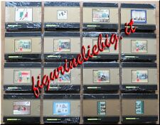 2011 Italia Repubblica Collezione 16 Foglietti Lamina d'Argento COMPLETA Lotto