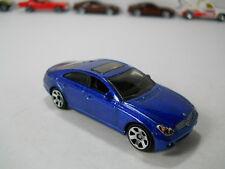 Matchbox Mercedes Benz CLS500 Blue Paint VHTF 1/64 Scale JC51