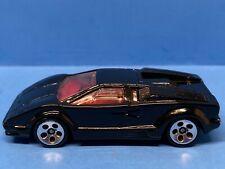Hot Wheels 1997 Lamborghini Countach - Black