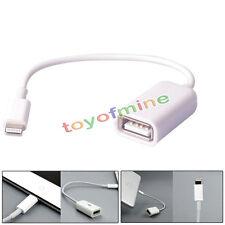 8Pin Malé zu USB Buchse OTG Adapter Kabel für iPhone5 5C SE 5S i Pad 4 Mini Air
