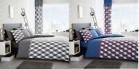 Luxury Cubix Duvet Set Pillow Cases 3PCs duvet Cover Set Quilt Cover Set Bed Set