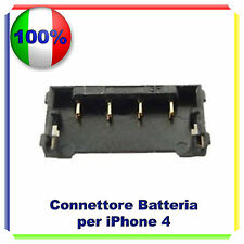 CONNETTORE BATTERIA A PIASTRA MADRE TO MOTHERBOARD RICAMBIO PER IPHONE 4G