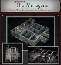 Dwarven Forge THE MENAGERIE Dungeons of Doom 2018 w/Painted-Magnets - D&D Tiles