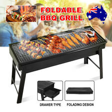 Portable Charcoal Grill - Black