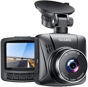 TOGUARD 4K Dash Cam for Cars with GPS