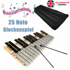 Percussion Professional Wooden Soprano Glockenspiel Xylophone with Bag