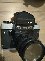 VINTAGE USSR KIEV-60  TTL Russian Camera with Vega-12B Lens.DOES NOT WORK