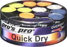 PRO'S PRO Quick Dry NUOVO Overgrip-Confezione da 30-Tennis Squash Badminton