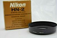 [NEAR MINT] Genuine Nikon HN-2 Lens Hood for Nikkor 28mm F/2.8 3.5 from japan