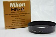 [N MINT] Genuine Nikon HN-2 Lens Hood for Nikkor 28mm F/2.8 3.5 from japan