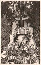 alte Foto AK Alte Frau Post Mortem, 1920er Jahre