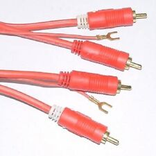 1 x Cinchcable 5,5m red 5,5m Cinchcable with RCA Plug  Hama  1pcs