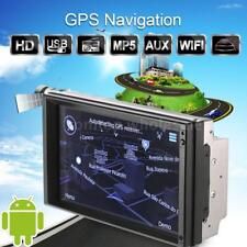 "7"" Android 5.1 Car GPS Navigation Stereo Radio Player WIFI AM/FM Bluetooth 2DIN"