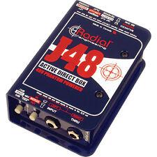 Radial J48 MK2 Direct Box DI w/ Phantom NEW! FAST SHIP! MAKE OFFER! Active J-48