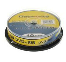 Datawrite DVD+RW 4x Rewritable 10 pack NEW